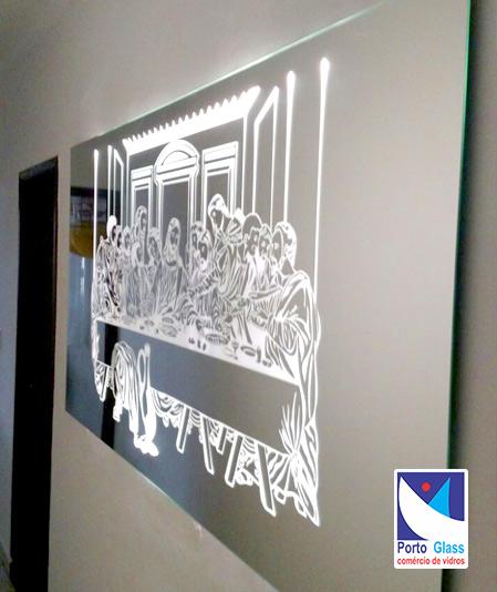 Vidros e Espelhos Serigrafados